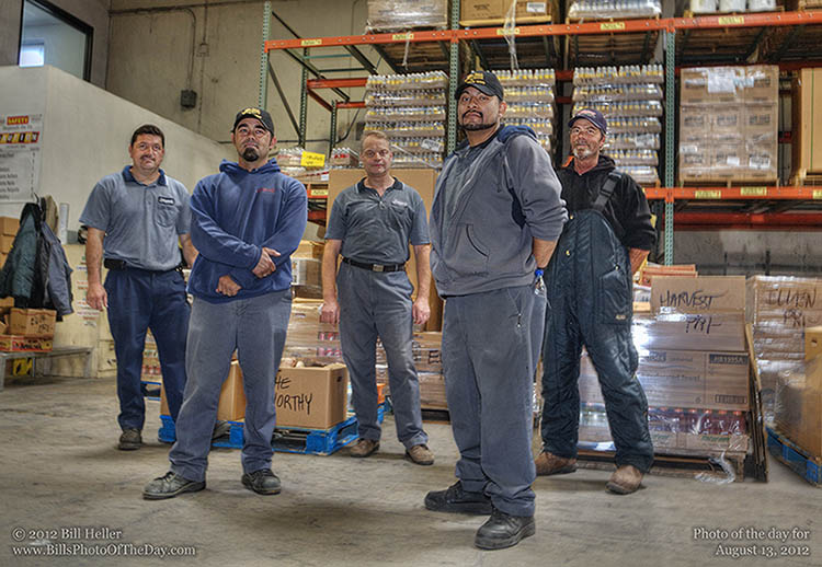 &quot;The Worthy&quot; - The Jordano's Foodservice Warehouse Crew