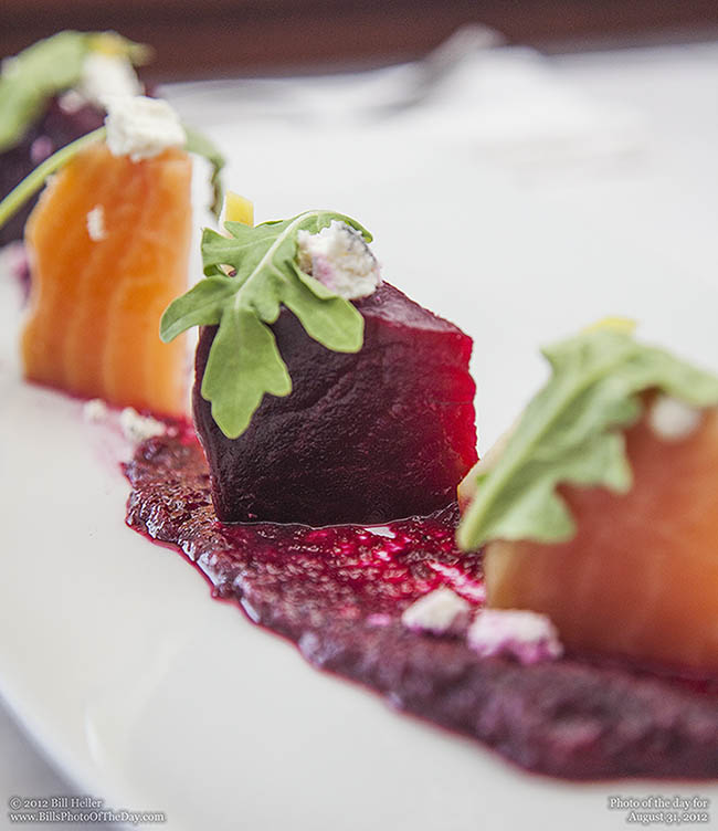 Beet Salad at the Rhumb Line Restaurant in Ventura
