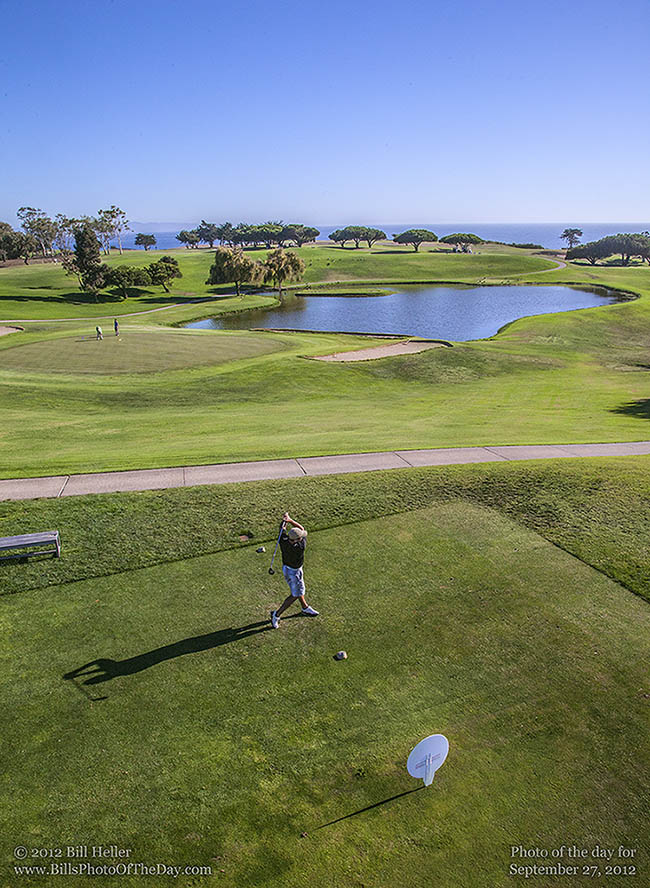 Tenth Hole Tee at the Sandpiper Golf Course in Goleta, California