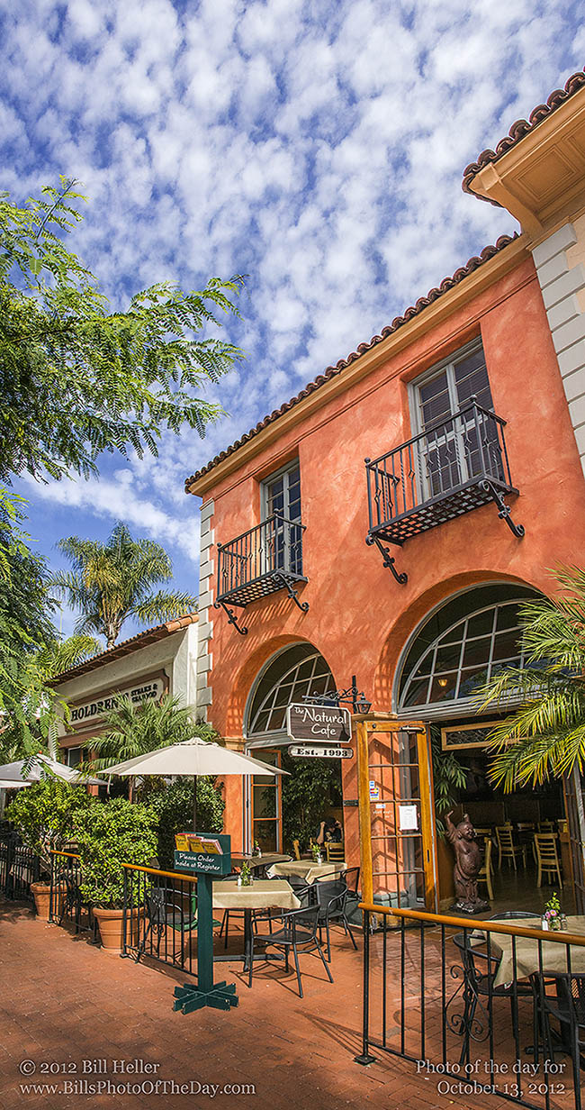 The Natural Cafe, State Street, Santa Barbara, California