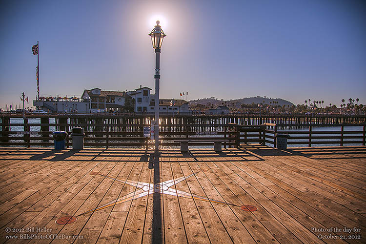 Stearns Wharf on the Sea Center Wing