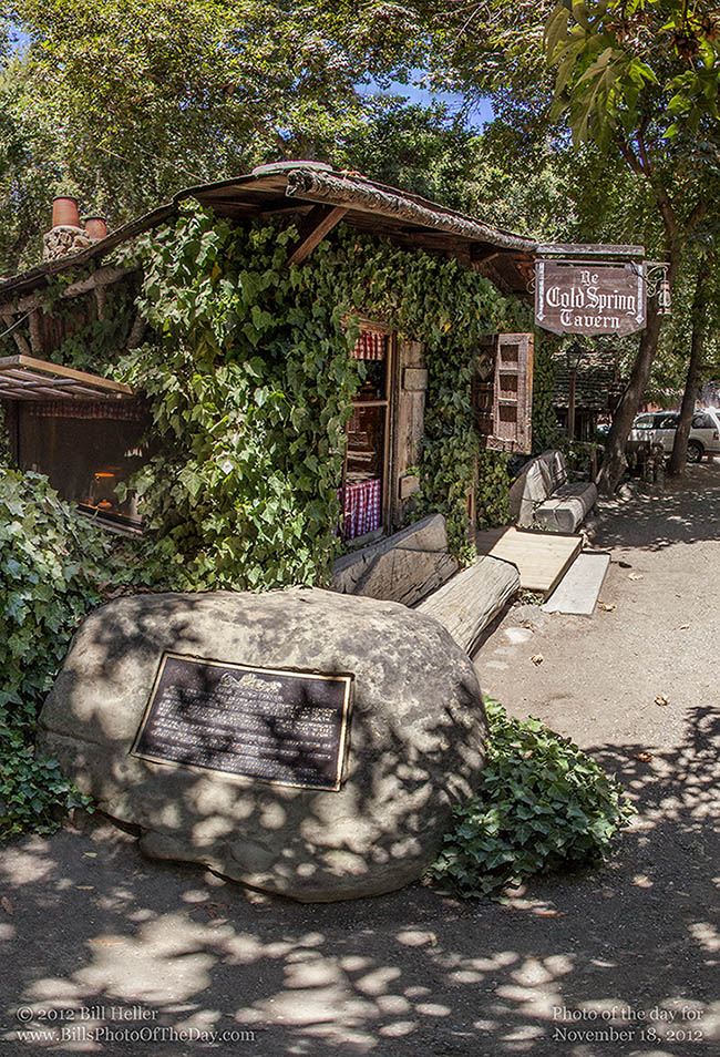 Cold Spring Tavern on San Marcos Pass (Highway 154)