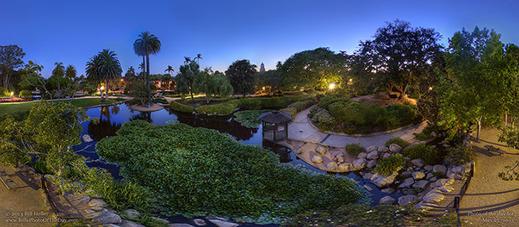 Alice Keck Park Memorial Gardens, Santa Barbara, California