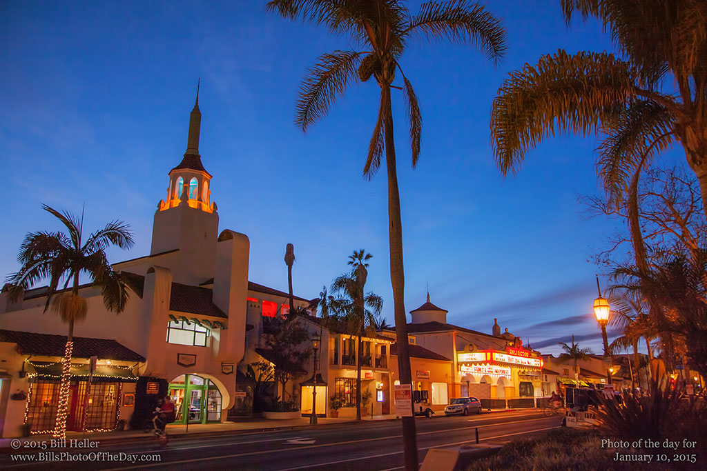 State Street Ready for the Santa Barbara International Film Festival - Opening night 2014