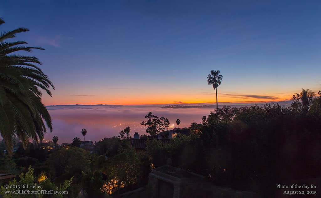 Santa Barbara Twilight Glow